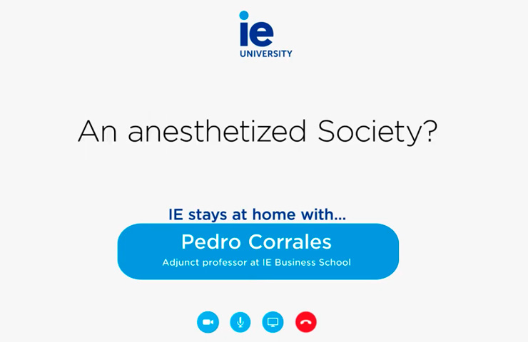 An Anesthetized Society? | IE Building Resilience