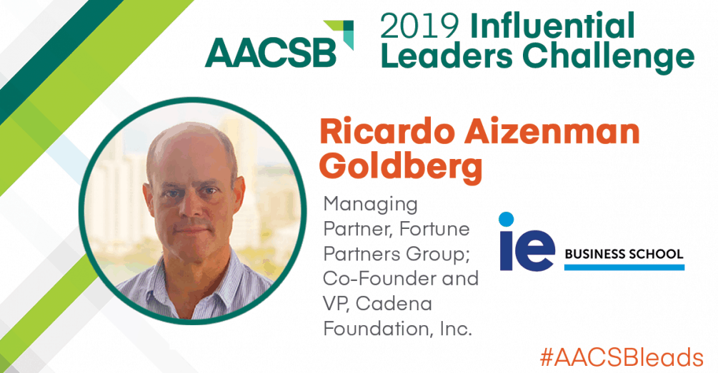 IE Alum Ricardo Aizenman Goldberg Honored as 2019 AACSB Influential Leader