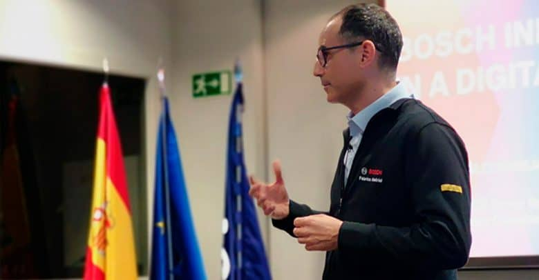 President of Bosch Group Spain discusses mobility with IE Business School students