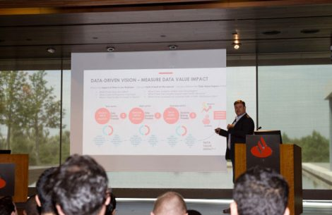 IMBA students kick off the TechLab with IBM and Santander | IE Business School