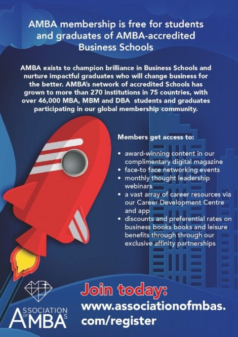AMBA Membership | IE Business School