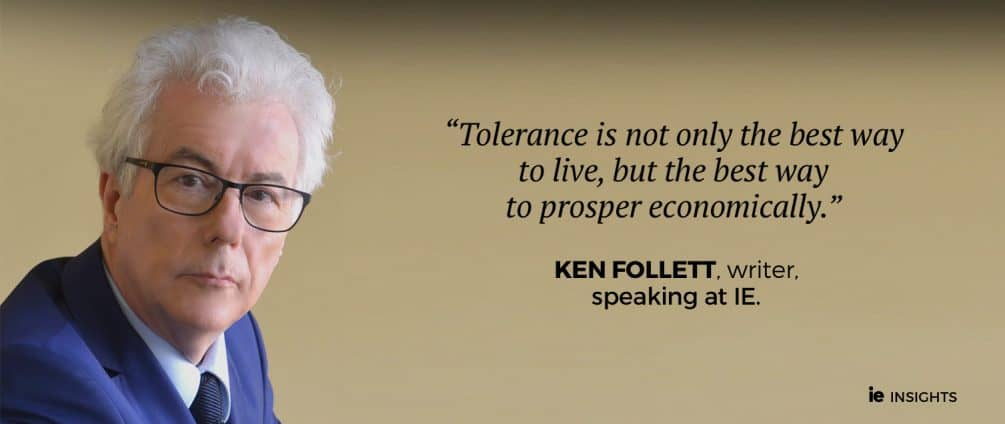 Ken Follett - Sobre la tolerancia eng