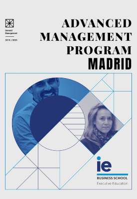 Portada Folleto Advanced Management Program Madrid | IE Exponential Learning