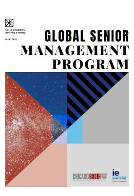 Global Senior Management Program - Brochure