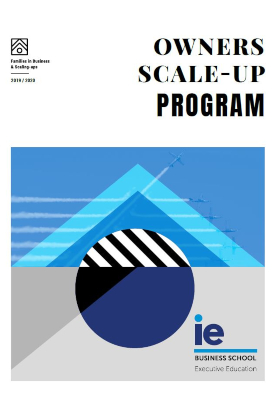 Folleto Owners Scale-Up Program | IE Exponential Learning