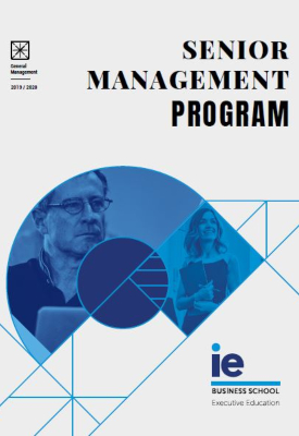 Portada Folleto Senior Management Program | IE Exponential Learning