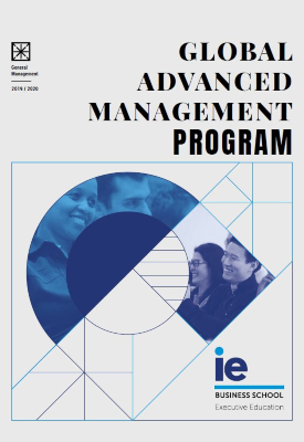 Folleto Global Advanced Management Program | IE Exponential Learning