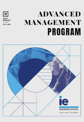 Portada Folleto Advanced Management Program | IE Executive Education