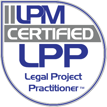Logo International Institute of Legal Project Management certified Legal Process Practitioner