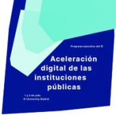 Folleto Aceleración Digital de las Instituciones Públicas | IE Exponential Learning