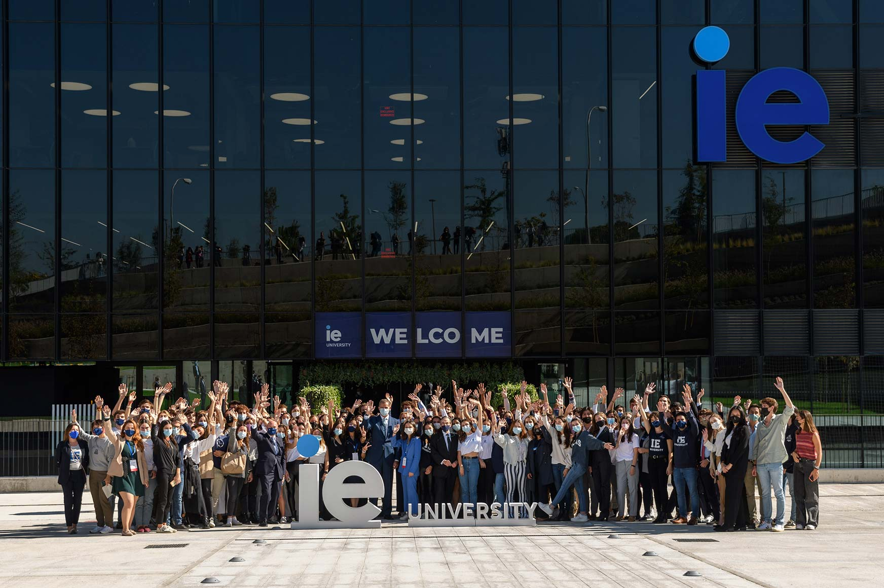 The King of Spain presides over inauguration of IE Tower | IE