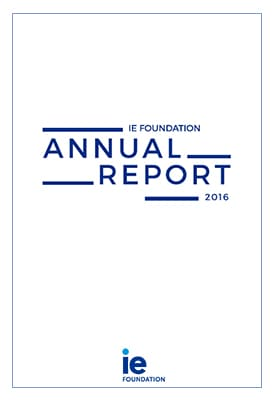 Annual Report 16 IE Foundation