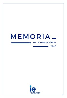 Memoria 16 IE Foundation