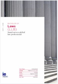 Bachelor of Laws | IE Law School
