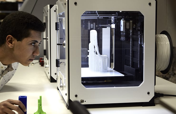 Learning by Doing IE School of Architecture and Design 3DPrinter
