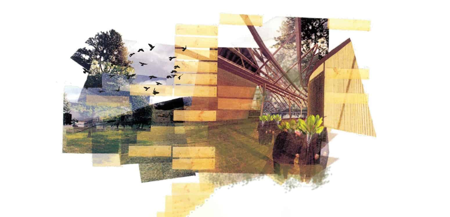Photomontage - Into the Woods - Student Projects | IE School of Architecture and Design