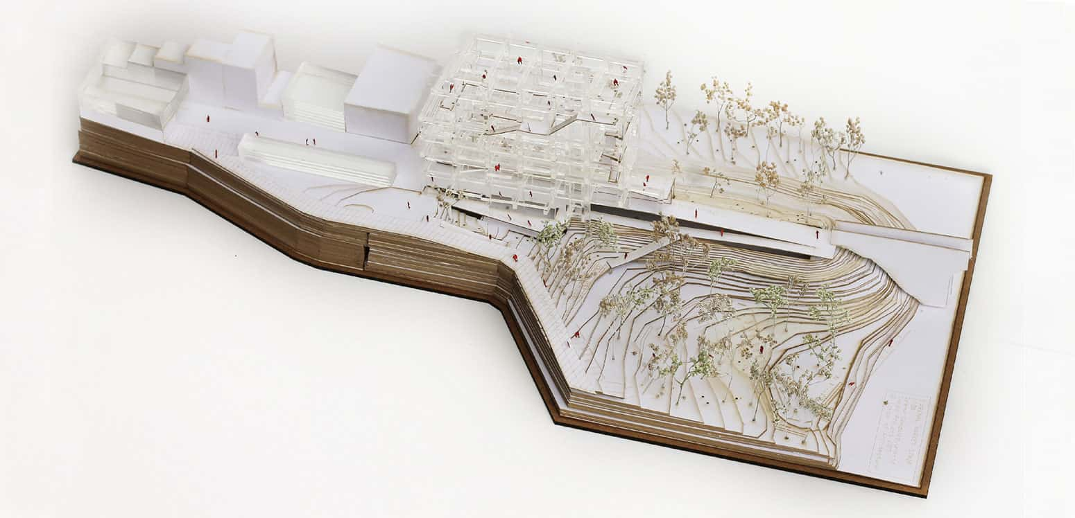 Model - S'Arenal Market Strip - Student Projects | IE School of Architecture and Design