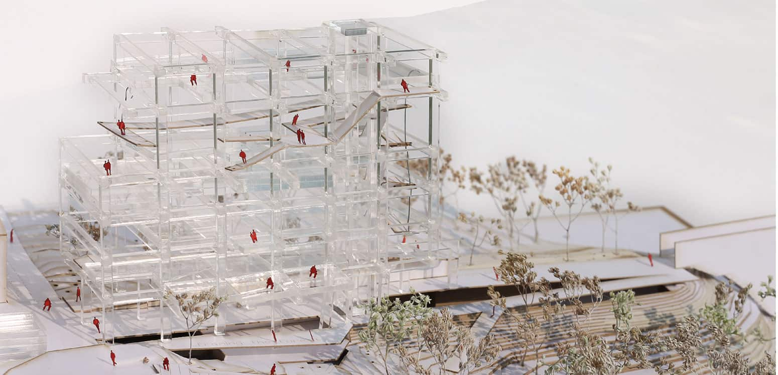 Model 3 - S'Arenal Market Strip - Student Projects | IE School of Architecture and Design