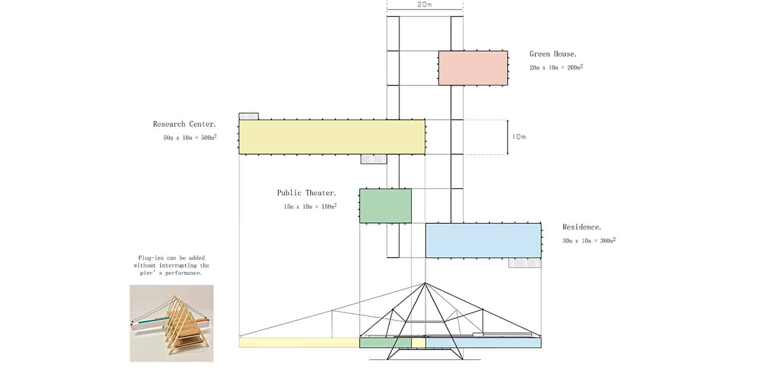 Plan 2 - TT Center - Student Projects | IE School of Architecture and Design