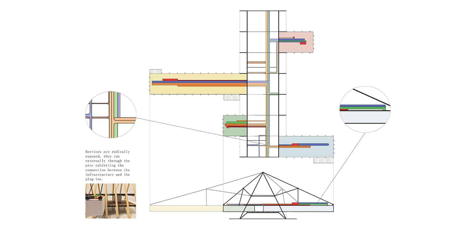 Plan 1 - TT Center - Student Projects | IE School of Architecture and Design