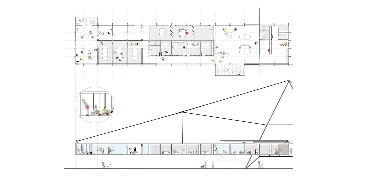 Plan 4 - TT Center - Student Projects | IE School of Architecture and Design