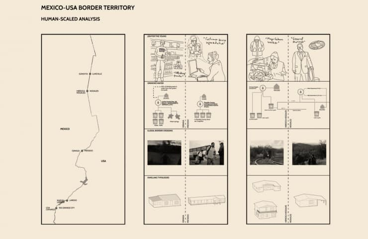 Comparative Analysis - Mexico-usa Border - Chamizal´s Community Incubator - Student Porjects   IE School of Architecture and Design