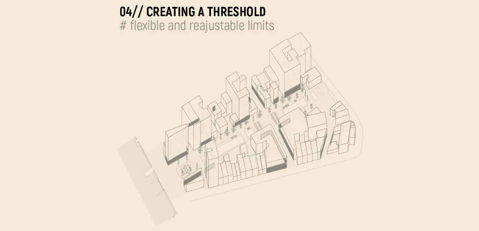 Creating a threshold - Constructing Encounters - Student Porjects | IE School of Architecture and Design
