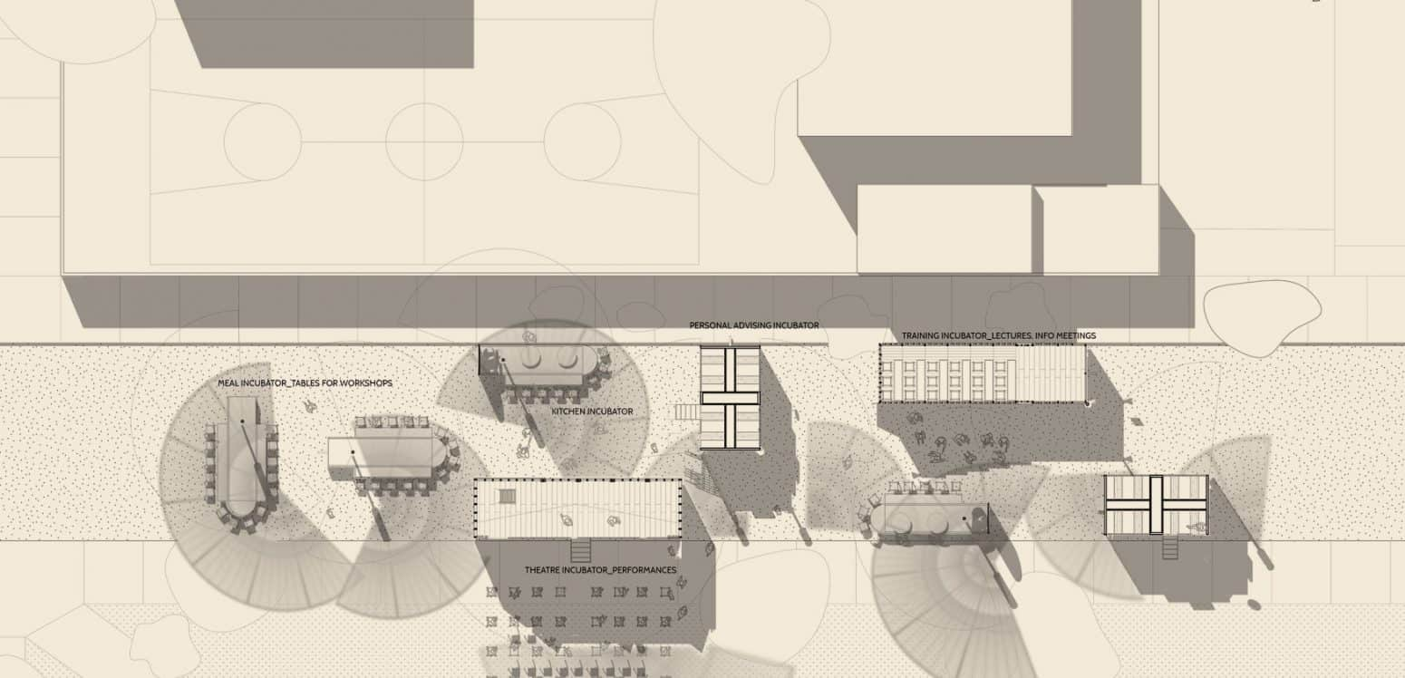Event plan - Chamizal´s Community Incubator - Student Porjects   IE School of Architecture and Design