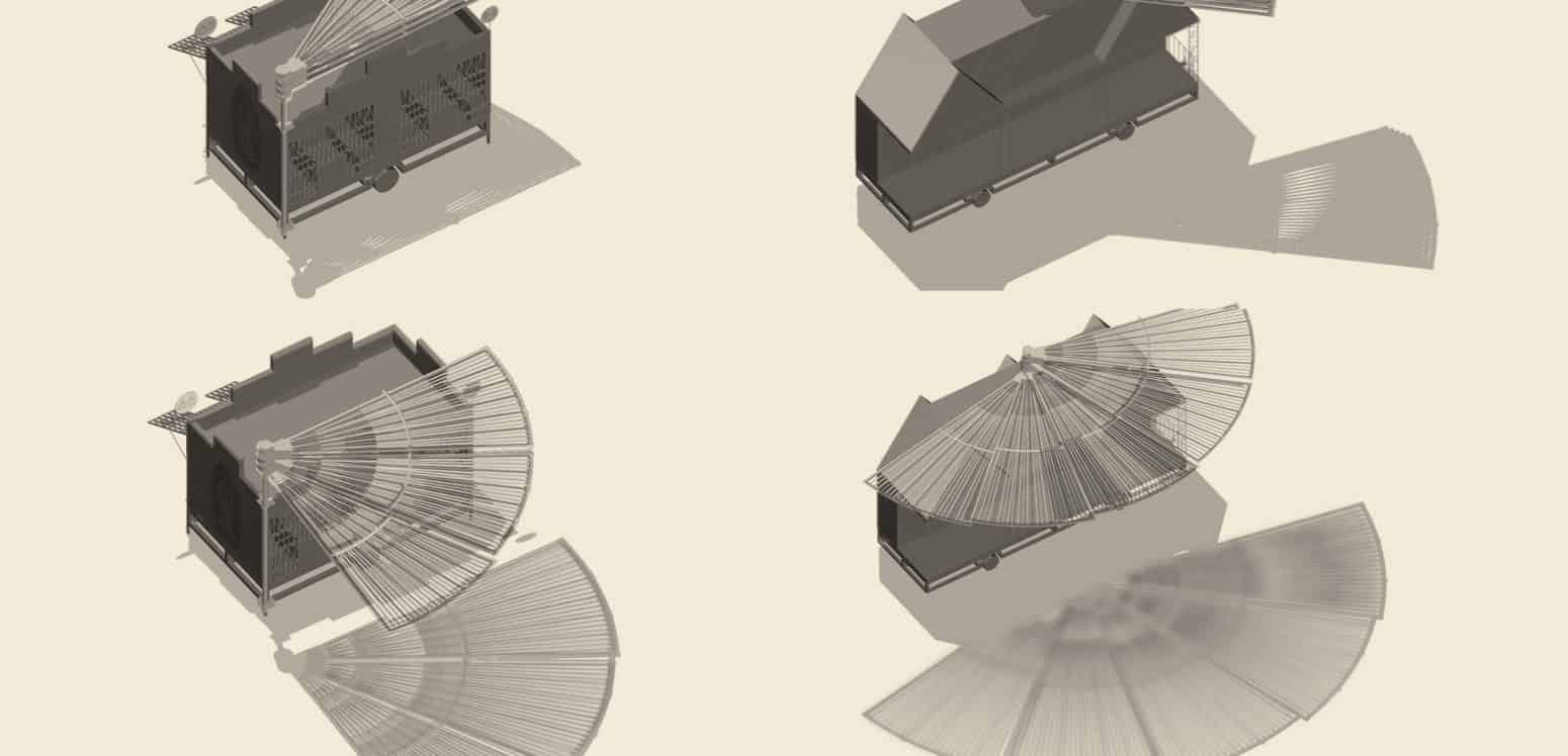 Fan System - Chamizal´s Community Incubator - Student Porjects   IE School of Architecture and Design