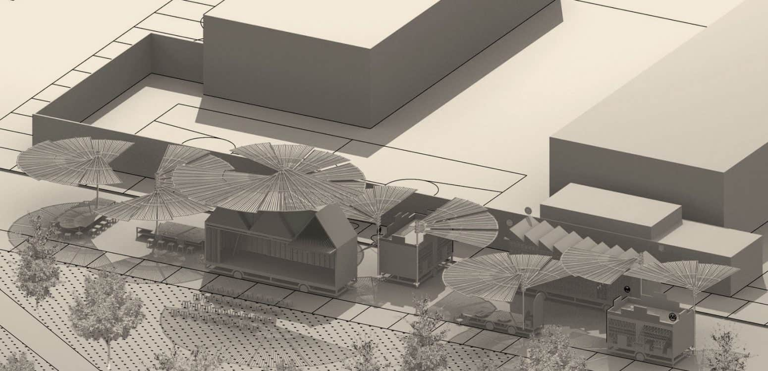 General View - Chamizal´s Community Incubator - Student Porjects   IE School of Architecture and Design