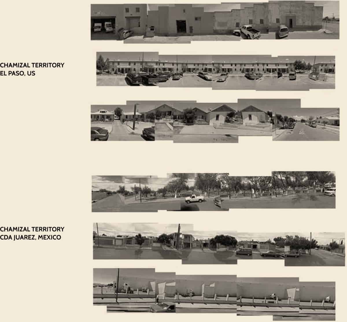 Mexican and American Chamizal territories - Chamizal´s Community Incubator - Student Porjects   IE School of Architecture and Design