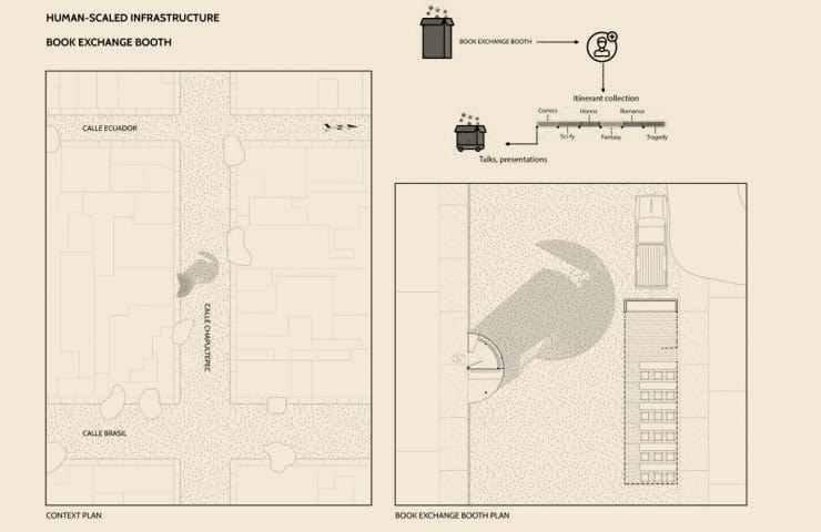 Plans - Chamizal´s Community Incubator - Student Porjects   IE School of Architecture and Design