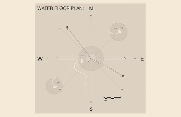 Water Floor plan - Kiaoliang Shuilian - Student Porjects | IE School of Architecture and Design