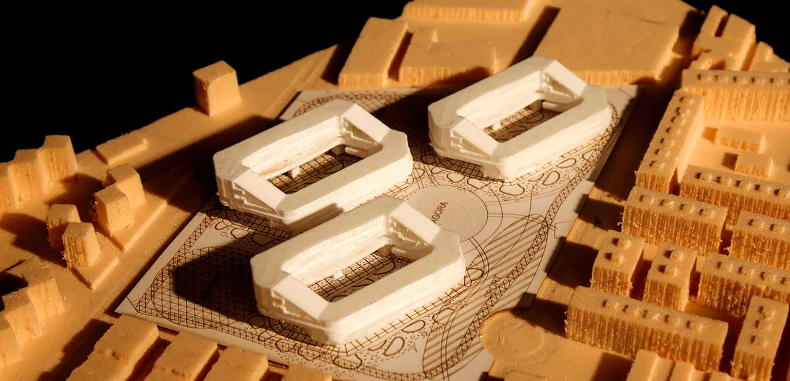 Model - Green Block Málaga – Creating a new lifestyle - Student Projects | IE School of Architecture and Design