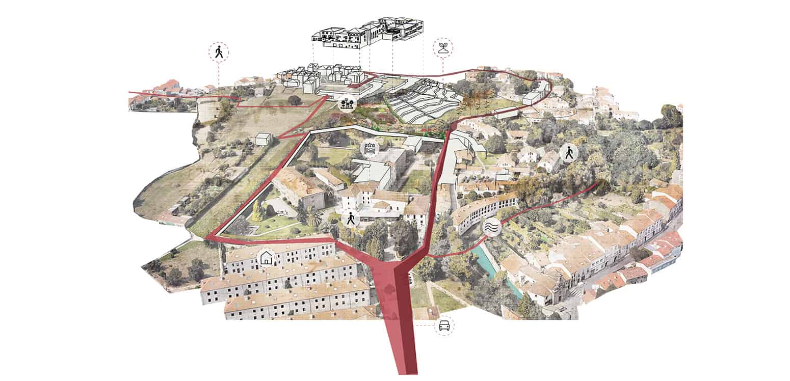 Location - Filoxenia Resort - Student Porjects | IE School of Architecture and Design