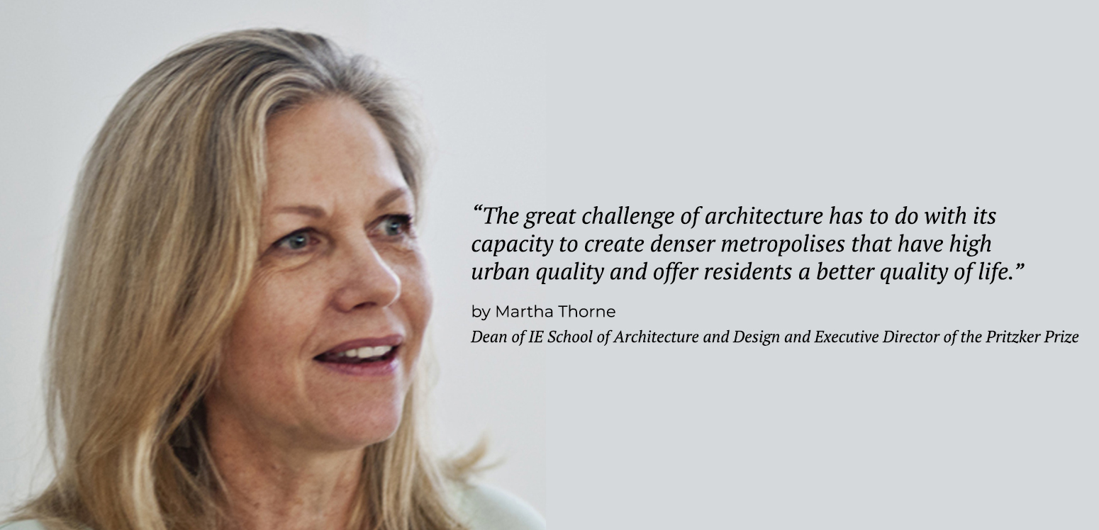 Martha Thorne - Center for Sustainable Cities | IE School of Architecture and Design