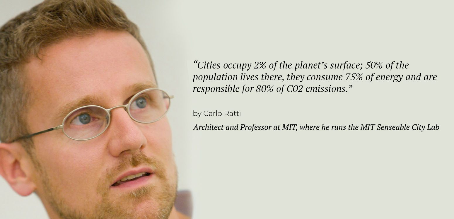 Carlo Ratti - Center for Sustainable Cities | IE School of Architecture and Design