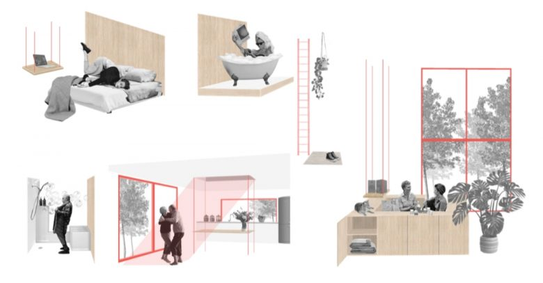 Research project on urban shelters at the Seoul Biennale 2021- IE
