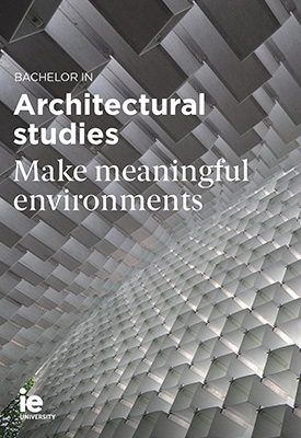 Bachelor in Architectural Studies | IE University