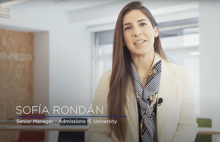 IE University Admissions process with Sofía Rondán | IE University