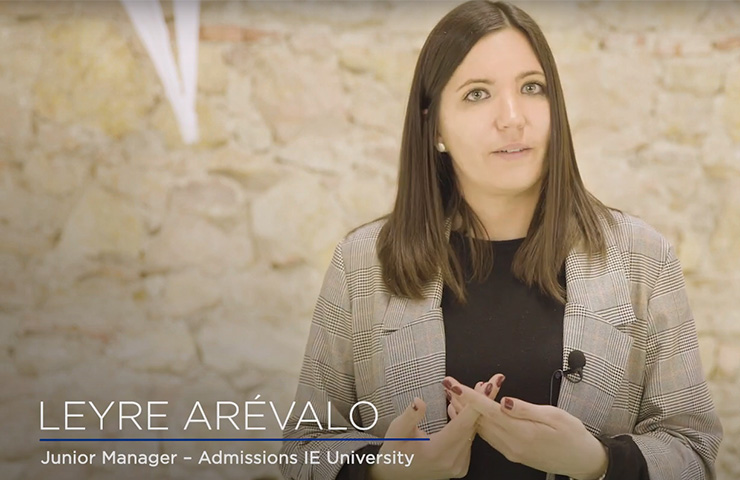 Online Test: Kira with Leyre Arevalo (Admissions) | IE University