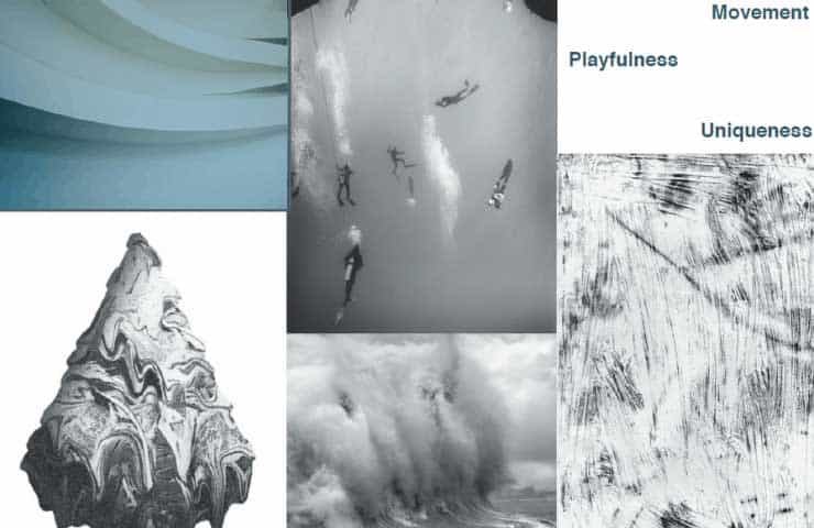 Inspiration and Mood Board - Break Water Ozy