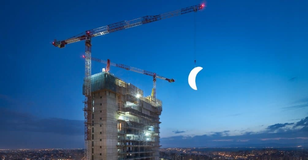 A historic Moon shines bright on IE University's campus of the future