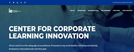 IE Center for Corporate Learning Innovation - IE University