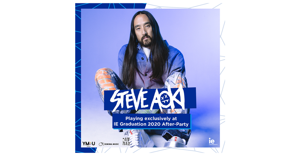 DJ Steve Aoki to headline IE University's graduation night